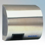 Vent-Axia 20101840SX Ultradry SX Satin Stainless Steel Automatic No-Touch Hand Dryer IP24 2.4kW 230V