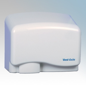 Vent-Axia 427935 Easy Dry White ABS Plastic Automatic No Touch Hand Dryer 1.0kW 240V