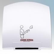 Stiebel Eltron 073007 HTE4 Alpine White ABS Plastic Economy Automatic Hand Dryer IPX23 1.8kW