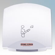 Stiebel Eltron 074465 HTT5WS Signal White Die-Cast Aluminium High Speed Vandal Resistant Automatic Hand Dryer IPX23 2.6kW