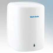 Vent-Axia 437231 Tempest White Steel Heavy Duty Low Energy Automatic No Touch Hand Dryer 450W-900W 240V