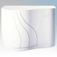 Hyco HD1600 Cyclone White Steel Automatic No Touch Hand Dryer 1.6kW 230V