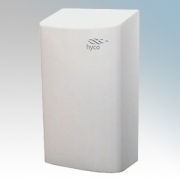 Hyco CURVEW Curve White Stainless Steel High Speed Automatic Vandal Resistant Hand Dryer IP24 0.3kW - 0.9kW