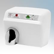 Warner Howard DXA548 Classic White Steel Heavy Duty Automatic No Touch Hand Dryer 2.3kW 240V