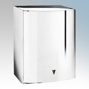 Vent-Axia 439463 Tempest Polished Chrome Heavy Duty Low Energy Automatic No Touch Hand Dryer 450W-900W 240V