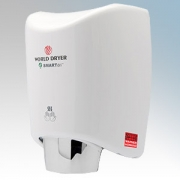 Warner Howard 16412400 SMARTdri White Die-Cast Aluminium Low Energy Automatic No Touch Hand Dryer 425W-1250W 240V