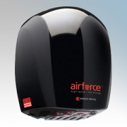 Warner Howard BC0325 Airforce Black Die-Cast Aluminium Low Energy Automatic Hand Dryer With Antimicrobial Coating IP24 1.1kW