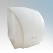 Eterna HDA-1800 White Cast Aluminium Vandal Resistant Hand Dryer IPX1 1.8kW