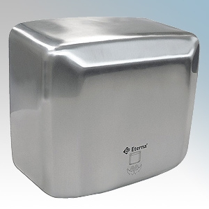 Eterna SSHDA-2500 Stainless Steel High Power Vandal Resistant Hand Dryer IPX1 2.5kW