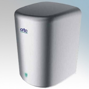 ATC ATC-ZA05 Panther Brushed Stainless Steel Automatic Low Energy High Speed Hand Dryer With Adjustable Heat Control IPX1 450W -