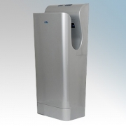 ATC PREMBLADE15 Premium Silver ABS Plastic Automatic Low Energy Blade Type Hand Dryer IPX4 975W - 1.975kW