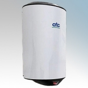 ATC Z-2651W Cub White Painted Steel Automatic Low Energy High Speed Hand Dryer IPX1 500W - 1150W