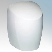 Red Arrow YD-208W White Steel Automatic Low Energy Hand Dryer With Adjustable Heat Control IP20 550W - 1250W