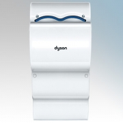 Dyson AB14 Airblade dB2 White Polycarbonate ABS Low Noise Blade Type Hand Dryer 1.6kW