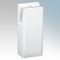 Mitsubishi JT-SB216JSH2-W-NE Jet Towel Slim White ABS  Low Energy Blade Type Hand Dryer IPX4 550W - 1240W