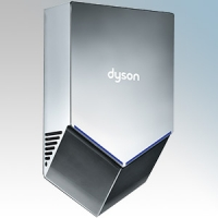 Dyson HU02SN Airblade V Spayed Nickel Polycarbonate ABS Hand Dryer 1.0kW