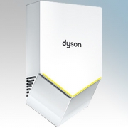Dyson HU02W Airblade V White Polycarbonate ABS Hand Dryer 1.0kW