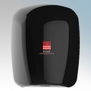 Warner Howard 091183 EL600 Black ABS Plastic Low Energy Slimline Automatic Hand Dryer With Antimicrobial Coating IP22 0.6kW