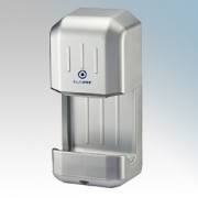 BlueDry BD88S BD88 Silver ABS Plastic Automatic High Speed Compact Hand Dryer IP22 880W