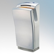Biodrier BB702S Business2 Silver ABS Plastic Automatic Blade Type Hand Dryer IP22 0.7kW - 1.4kW
