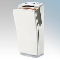 Biodrier BB702W Business2 White ABS Plastic Automatic Blade Type Hand Dryer IP22 0.7kW - 1.4kW