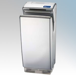 Biodrier BB70S Business Silver ABS Plastic Automatic Blade Type Hand Dryer IP22 0.85kW