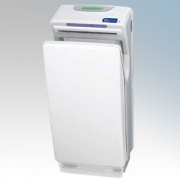 Biodrier BB70W Business White ABS Plastic Automatic Blade Type Hand Dryer IP22 0.85kW