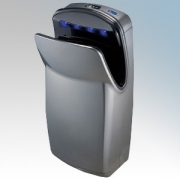 Biodrier BE1000S Executive Silver ABS Plastic Automatic Blade Type Hand Dryer IP33 0.7kW -1kW