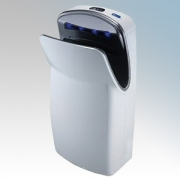 Biodrier BE1000W Executive White ABS Plastic Automatic Blade Type Hand Dryer IP33 0.7kW -1kW