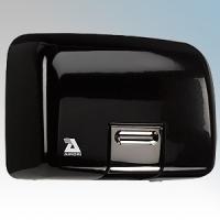 Airdri Quarto Black Die-Cast Aluminium Automatic Heavy Duty Classic Styled Vandal Resistant Hand Dryer 2kW