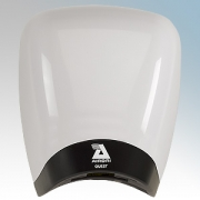 Airdri Quest White Die-Cast Aluminium Automatic Low Noise Fast Dry High Speed Hand Dryer 1.4KW