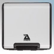 Airdri Quad White Steel Slim Profile Automatic Fast Dry High Speed Hand Dryer 1.7KW