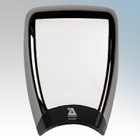 Airdri Quazar Polished Chrome Die-Cast Aluminium Automatic Low Noise Fast Dry High Speed Hand Dryer 1KW