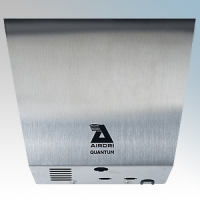 Airdri Quantum Brushed Stainless Steel Automatic Low Energy High Speed Jet Dry Hand Dryer 200W