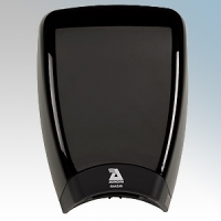 Airdri Quazar Black Die-Cast Aluminium Automatic Low Noise Fast Dry High Speed Hand Dryer 1KW