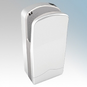 Veltia VUK001 V7-300 Snow White ABS Plastic Low Energy High Speed Blade Type Hand Dryer With 300 Jets Of Air 1.76kW