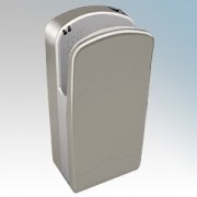 Veltia VUK002 V7-300 Silver Aluminium ABS Plastic Low Energy High Speed Blade Type Hand Dryer With 300 Jets Of Air 1.76kW
