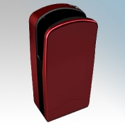 Veltia VUK003 V7-300 Bordeaux Red ABS Plastic Low Energy High Speed Blade Type Hand Dryer With 300 Jets Of Air 1.76kW