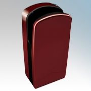 Veltia VUK005 V7-300 Cherry Red ABS Plastic Low Energy High Speed Blade Type Hand Dryer With 300 Jets Of Air 1.76kW