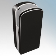 Veltia VUK009 V7-300 Black ABS Plastic Low Energy High Speed Blade Type Hand Dryer With 300 Jets Of Air 1.76kW