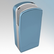 Veltia VUK011 V7-300 Sky Blue ABS Plastic Low Energy High Speed Blade Type Hand Dryer With 300 Jets Of Air 1.76kW