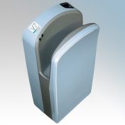 Veltia VUKBL011 V7 Tri-Blade Sky Blue ABS Plastic Low Energy High Speed Blade Type Hand Dryer With Triple Air Blade 1.76kW