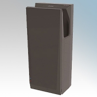 Mitsubishi JT-SB216JSH2-H-NE Jet Towel Slim Black ABS  Low Energy Blade Hand Dryer IPX4 550W - 1240W