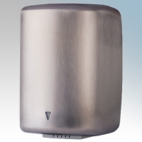 Hyco ELLBSS Ellipse Brushed Stainless Steel Low Energy High Speed Automatic Hand Dryer With Dry Zone Indicator IP23 0.6kW - 1.55kW