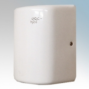 Hyco ARCW Arc White Stainless Steel Low Energy High Speed Automatic Vandal Resistant Hand Dryer IPX1 1.25kW