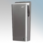 Hyco BLADES Blade Silver ABS Plastic Blade Type Low Energy Automatic Hand Dryer With Safety Timer IPX4 0.6kW - 1.85kW