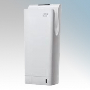 Hyco BLADEW Blade White ABS Plastic Blade Type Low Energy Automatic Hand Dryer With Safety Timer IPX4 0.6kW - 1.85kW