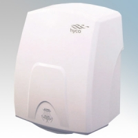 Hyco CTRW Contour White ABS Compact Automatic Hand Dryer IP22 1.5kW