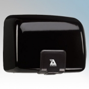 Airdri Quartz Black Die-Cast Aluminium Automatic Heavy Duty Low Noise Classic Styled Vandal Resistant Hand Dryer 1.4kW
