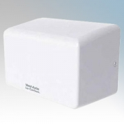 Vent-Axia 444956 Lo-Carbon eTempest White Steel Low Energy Automatic No Touch Hand Dryer 1.0kW 230V